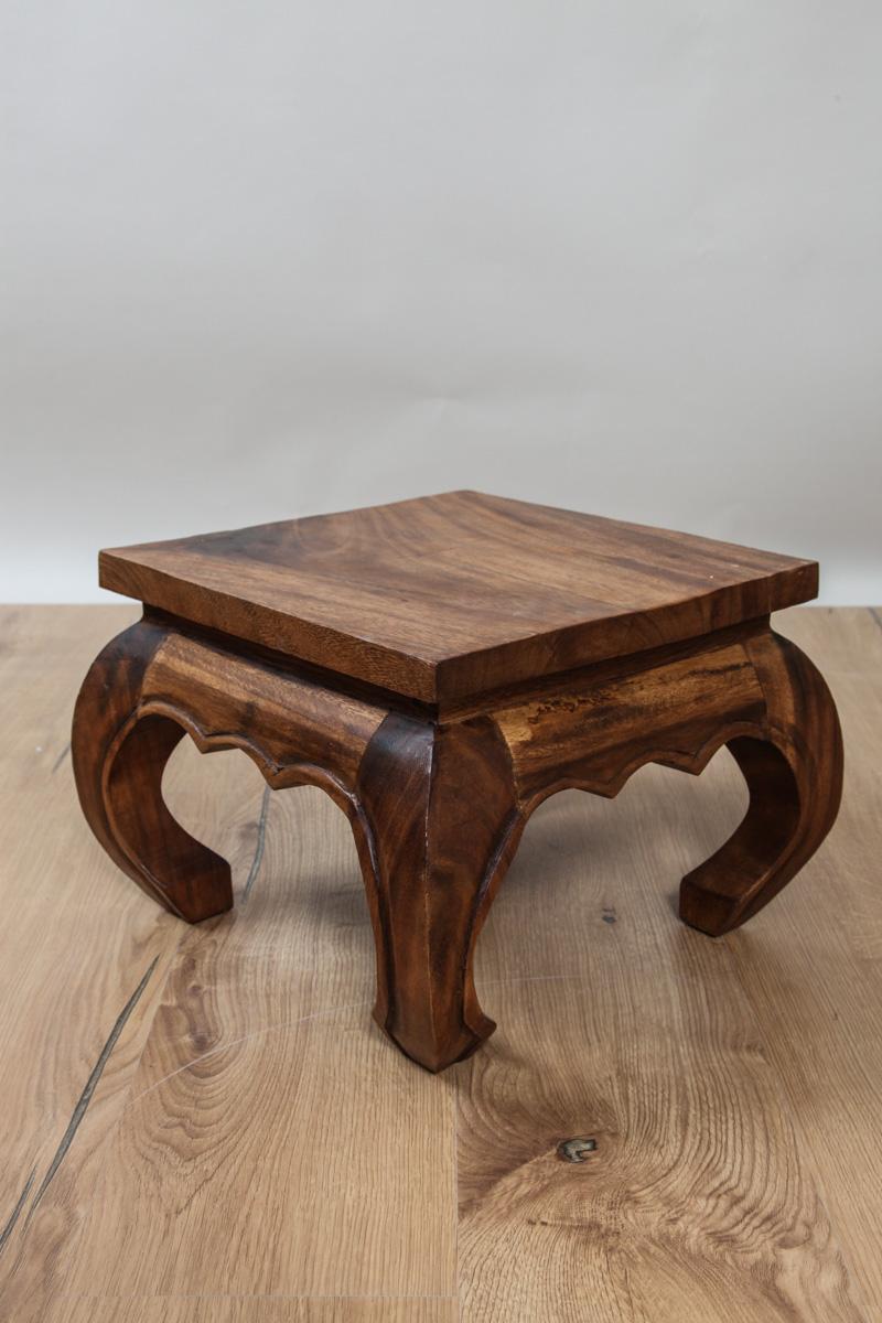 opiumtisch akazienholz braun 60cm online kaufen bei cachet cachet shop. Black Bedroom Furniture Sets. Home Design Ideas
