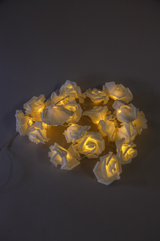 Lichterkette Rosen LED