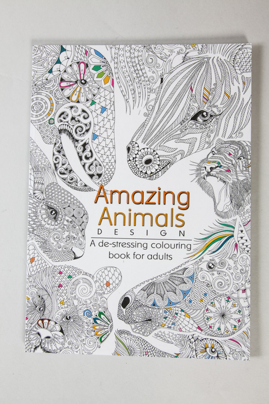 Malbuch Amazing Animals