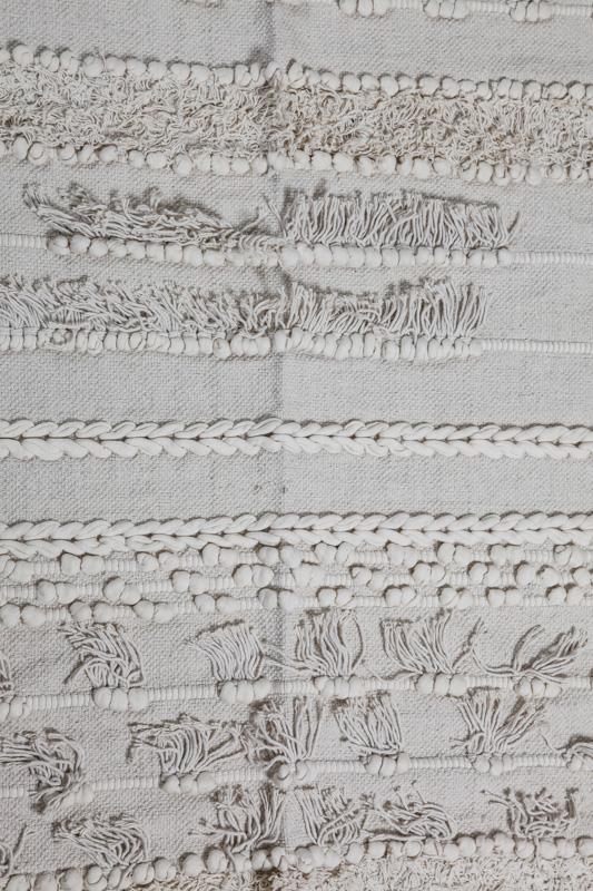 Teppich hell mit Fransen 90×150 online kaufen bei Cachet
