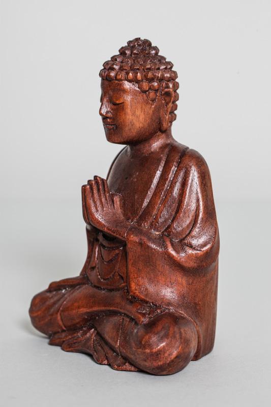 buddha betend suar holz 15 cm online kaufen bei cachet cachet shop. Black Bedroom Furniture Sets. Home Design Ideas