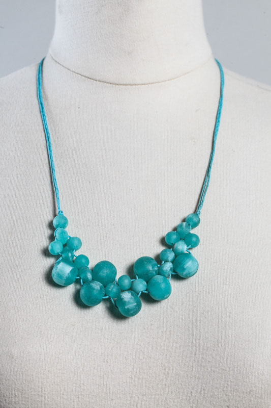 Halskette Resin Collier mint