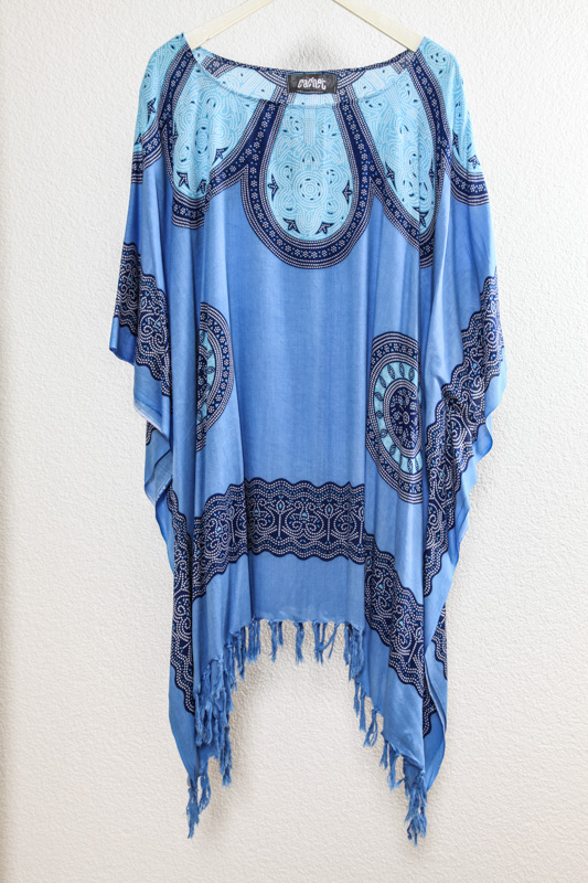 Poncho ohne Pailletten Cachet Hit - One Size