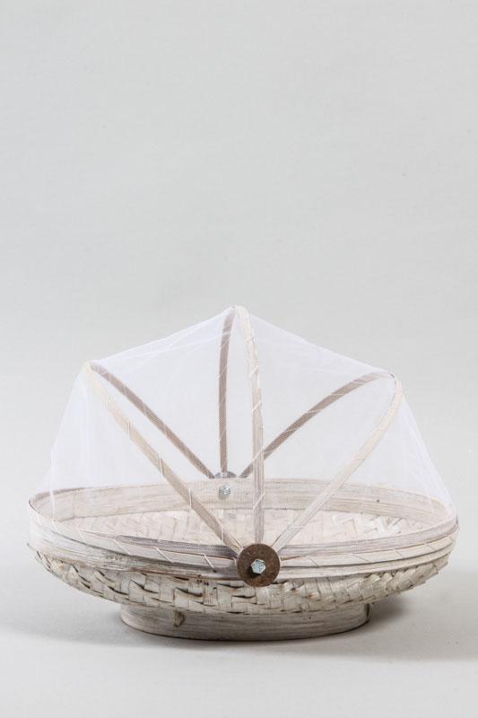 Bambuskorb White Wash Netz 30 Cm Online Kaufen Bei Cachet Cachet Shop