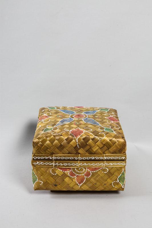 Bambuskorb Quadratisch Gelb 28 Cm Online Kaufen Bei Cachet Cachet