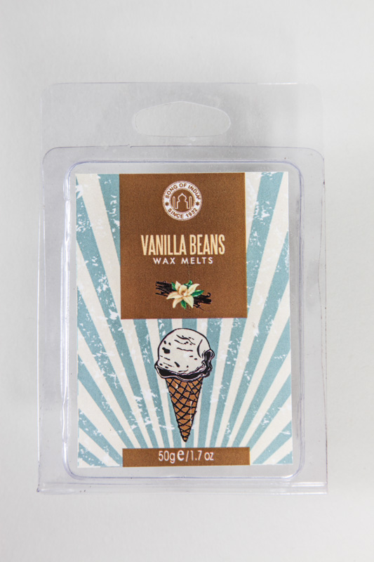 Song of India Wachs Vanilla Beans