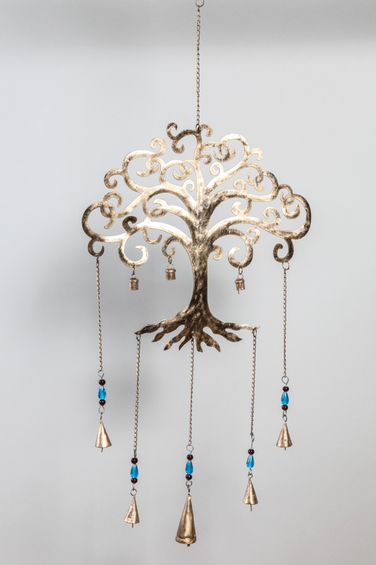 h ngende deko lebensbaum goldfarben online kaufen bei cachet cachet shop. Black Bedroom Furniture Sets. Home Design Ideas