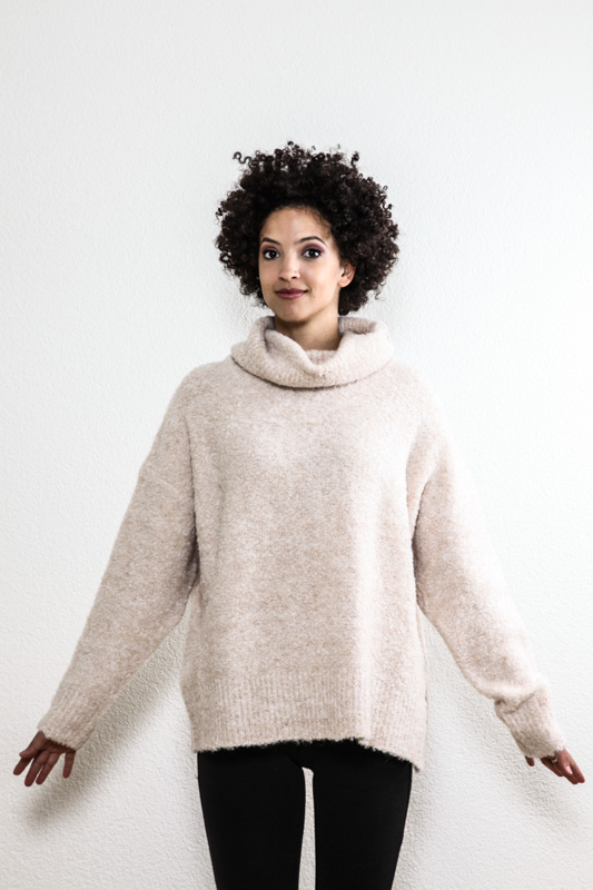 Pullover beige - One Size