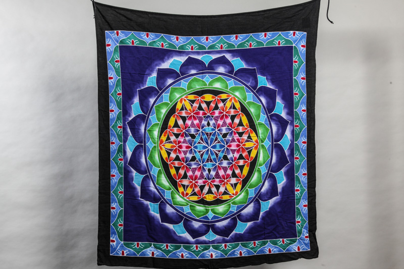 Balifahne Flower of Life 100 x 110 cm