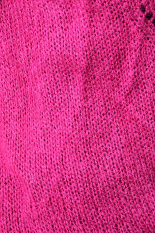Strickjacke kurz himbeere - One Size