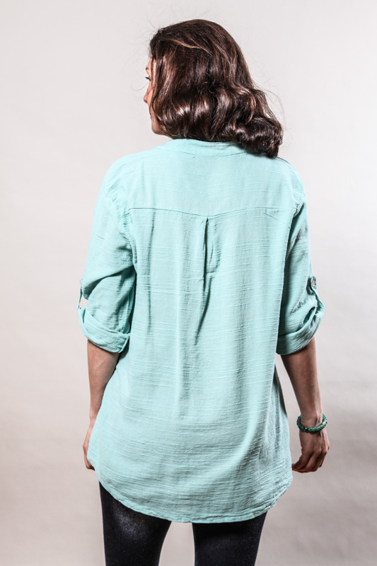 Bluse mint - One Size